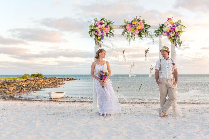 Holding a beach wedding: Here's why