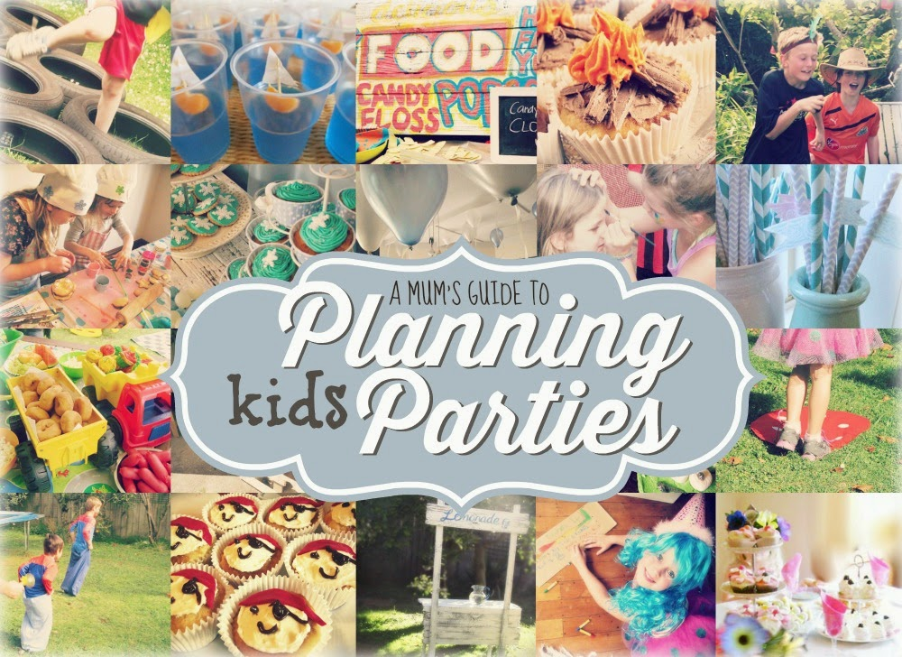 A basic guide to throwing a great kids birthday party