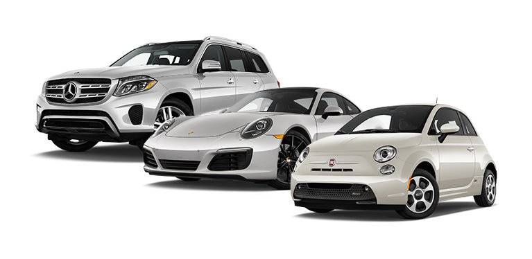 Luxury or sports – you rent a car – your choice
