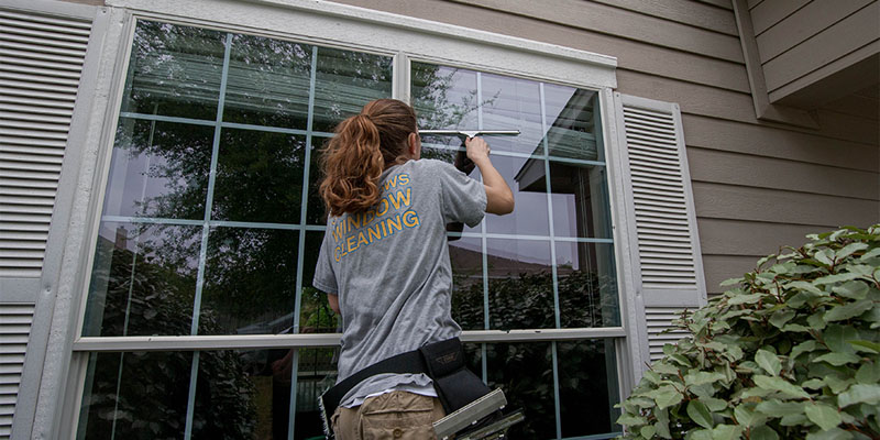 What will happen if I don't clean my windows regularly?